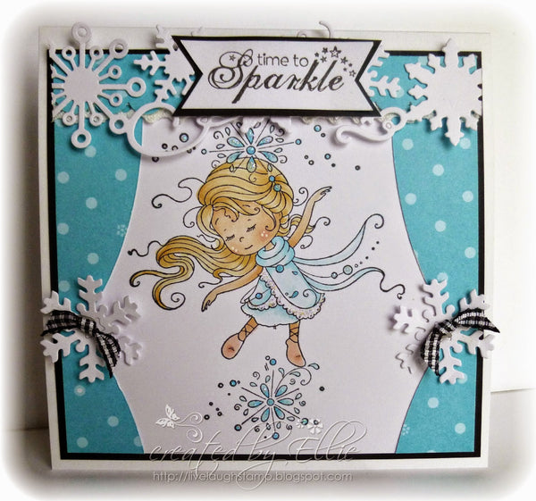 Snowflake Dancer - Digital Stamp - Whimsy Stamps