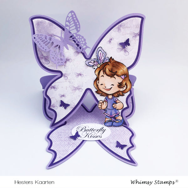 Butterfly Cinnamon - Digital Stamp - Whimsy Stamps