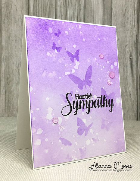 Deepest Sympathy Clear Stamps