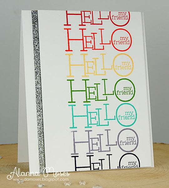 Bold Statements Clear Stamps - Whimsy Stamps