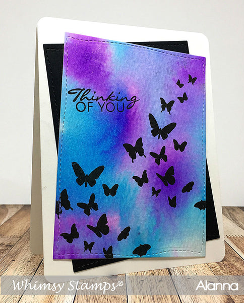 Flight of the Butterflies Clear Stamps