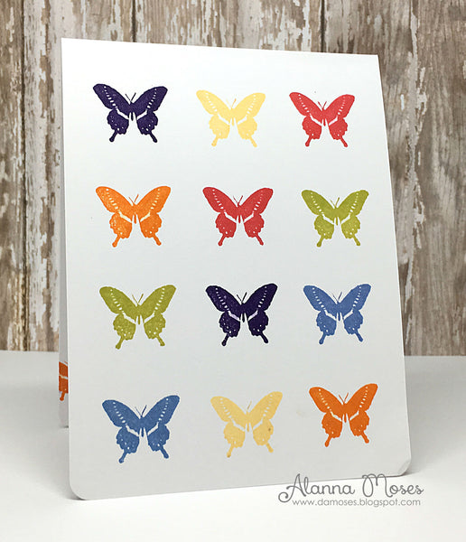 Flight of the Butterflies Clear Stamps - Whimsy Stamps