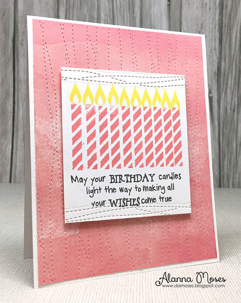 Magical Birthday Wishes Clear Stamps - Whimsy Stamps