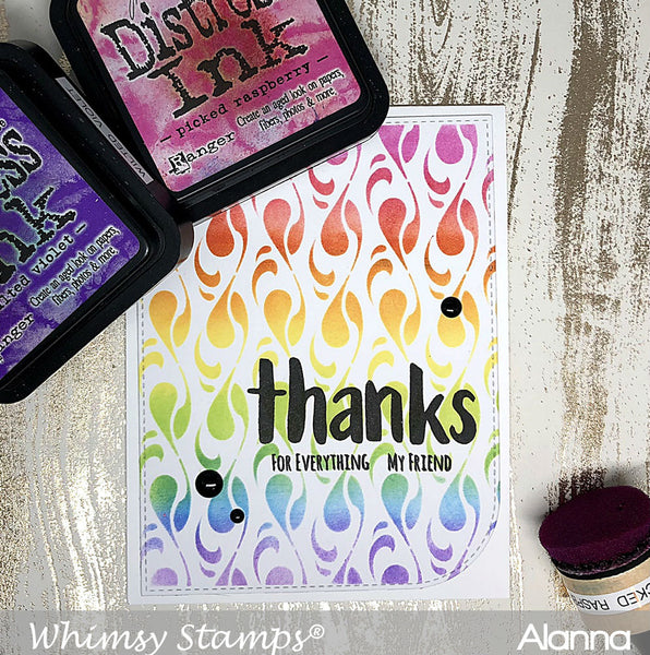 Swish Stencil - Whimsy Stamps