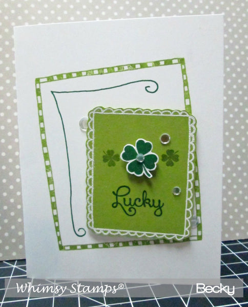 FaDoodles Too Clear Stamps - Whimsy Stamps