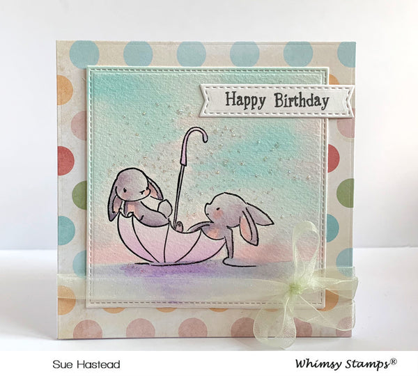 Bunny Buddies Clear Stamps - Whimsy Stamps