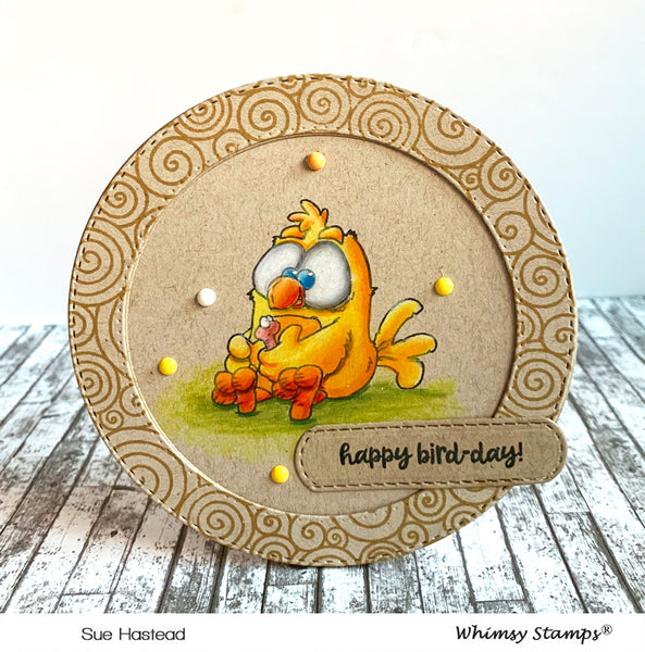 Early Birds Clear Stamps - Whimsy Stamps