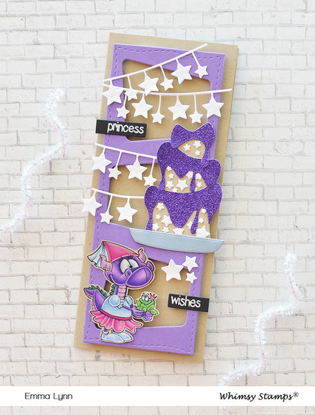 **NEW Make a Wish Outlines Die Set - Whimsy Stamps