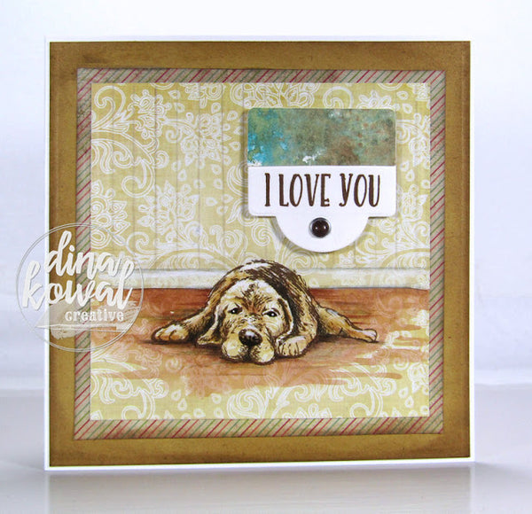 Fill My Heart Clear Stamps - Whimsy Stamps