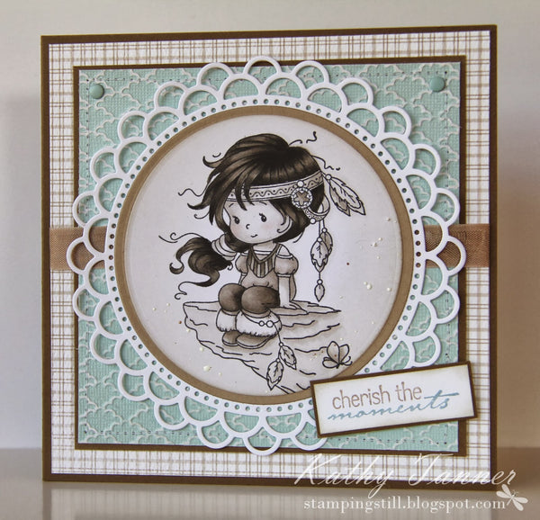 Wyanet (Beautiful) - Digital Stamp - Whimsy Stamps