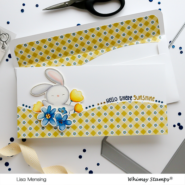 **NEW Sending Sunshine Outlines Die Set - Whimsy Stamps