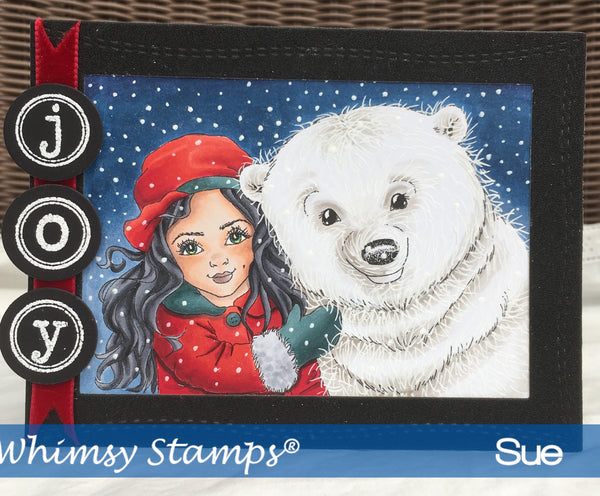 Polar Friends - Digital Stamp - Whimsy Stamps