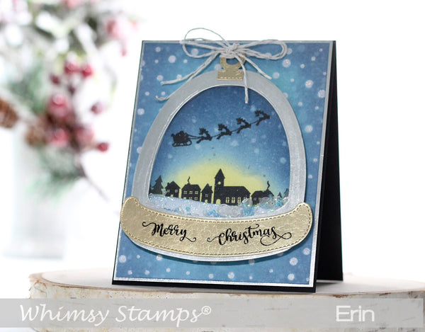Shaker Maker Glitter Globe Die Set - Whimsy Stamps