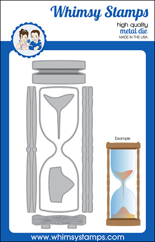 **NEW Slimline Hourglass Die Set - Whimsy Stamps