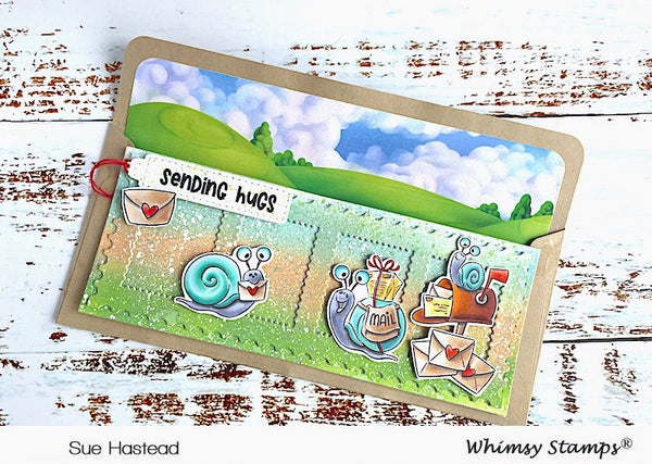 **NEW Slimline Paper Pack - Enchanted Kingdom - Whimsy Stamps