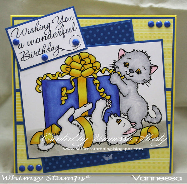Very Present Helpers - Digital Stamp - Whimsy Stamps