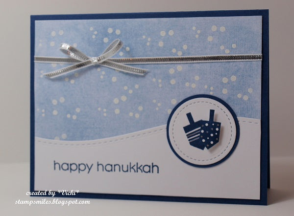 Happy Hanukkah Digital Sentiments - Whimsy Stamps