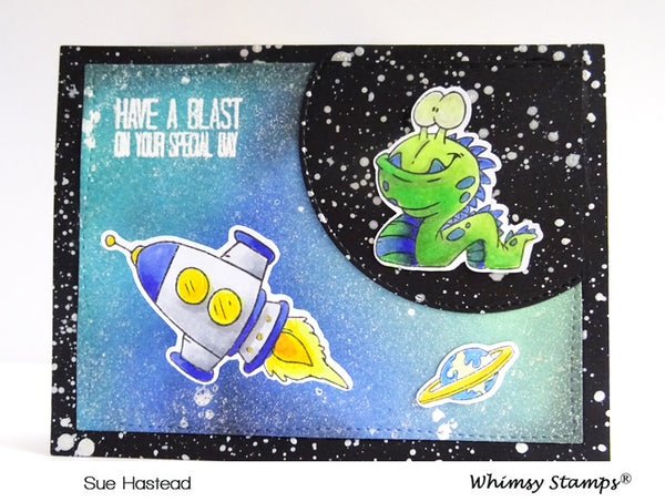 A Boy's Dream Clear Stamps - Whimsy Stamps