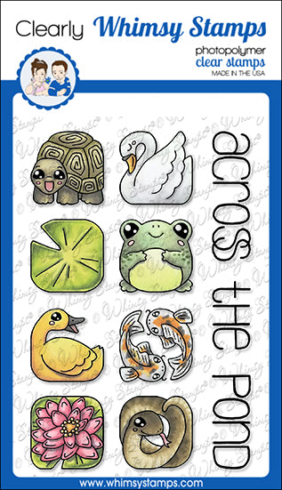 **NEW Animal Tiles - At the Pond Clear Stamps - Whimsy Stamps