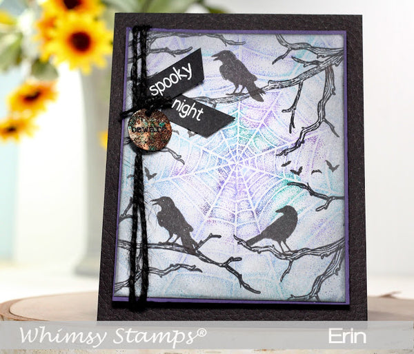 Attempted Murder Clear Stamps - Whimsy Stamps