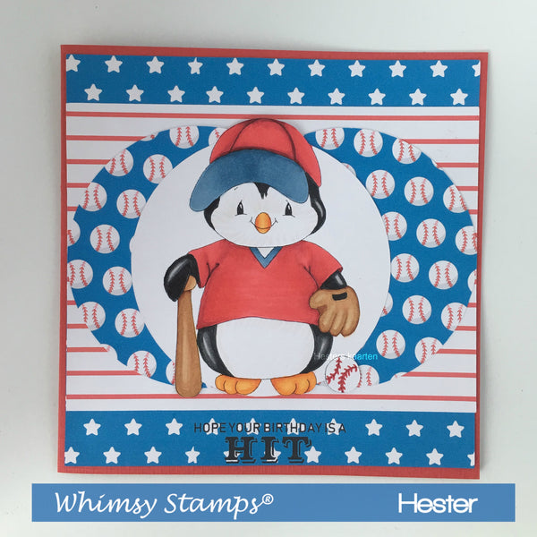 Baseball Sentiments - Digital Sentiments - Whimsy Stamps