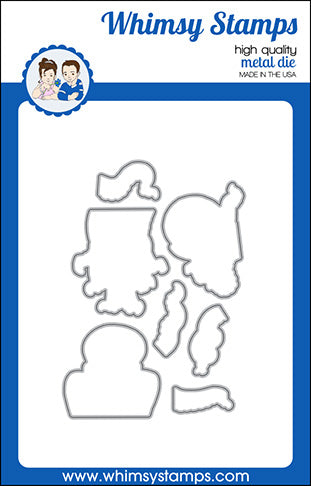 **NEW Octopi Guys Outlines Die Set - Whimsy Stamps