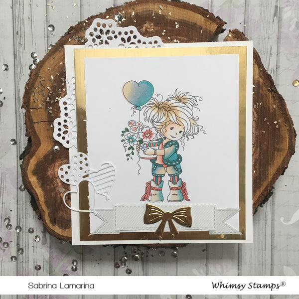 Amy - Digital Stamp - Whimsy Stamps