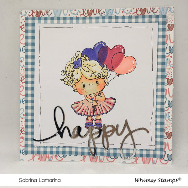 Sweetheart - Digital Stamp - Whimsy Stamps