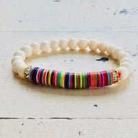 Fun Colourful Summer Bracelets