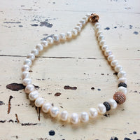Updated Classic Pearl Necklace