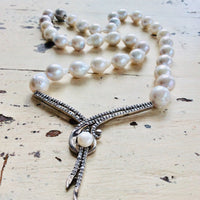 Bridal Baroque Pearls Princess Necklace at $365