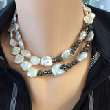 Outstanding Keshi Pearl Bridal Necklace