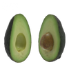 Avocado Two Halves #1 KeyShot Ready