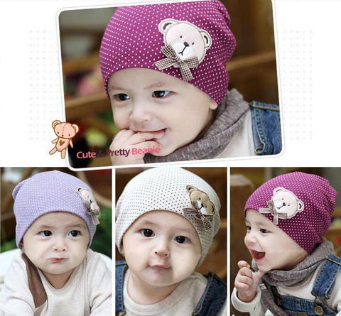 Baby Cotton Winter Beanie Hats