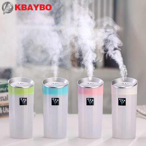 300ML Ultrasonic Humidifier for Home, car & office