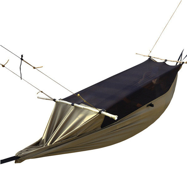 Soldier Outdoor Camping Hammock w/ Mosquito net