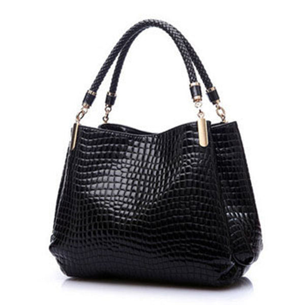 DIZHIGE Alligator Leather Handbags for Women