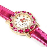 O.T.Sea Hello Kitty Stainless Steel Watch for Kids/girl