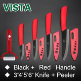 Zirconia Ceramic Black Blade Kitchen knife
