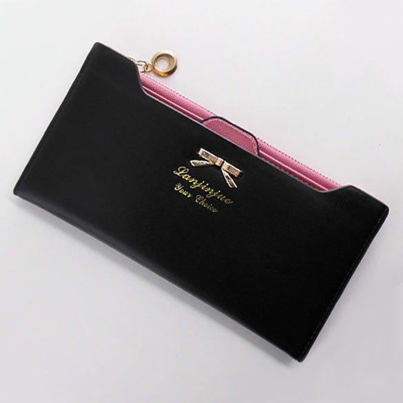Long Zip Fashion Wallets