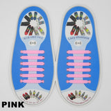 New Fashion Elastic Silicone Lazy No Tie Shoelaces
