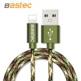 BASTEC Metal Braided Wire USB Cable for iPhone