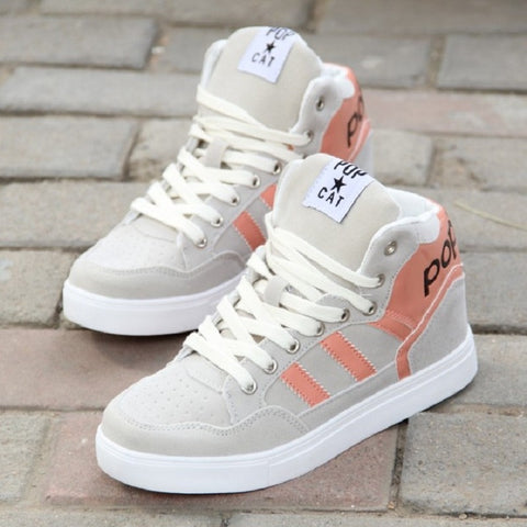 CHANVENUEL High Top Shoes for Women