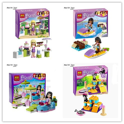 Girl's Figures & Houses Learning Toys with Lego Friends
