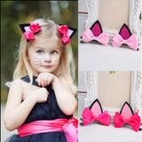 Baby Girls Hair Accessories ( Cat Ears Hairpins )