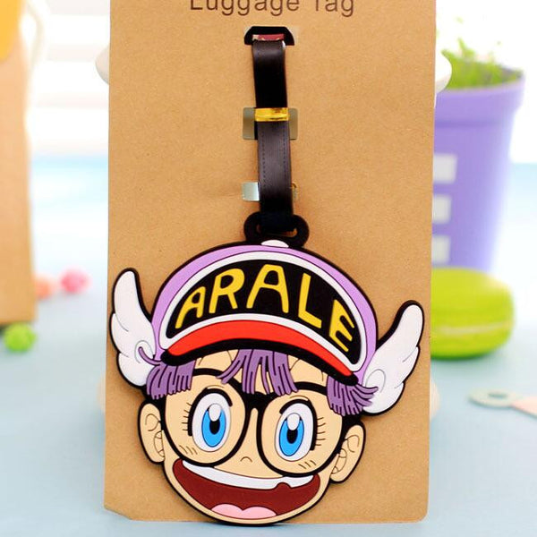 Lytwtw's Cartoon Style Travel Luggage Tag for Bags