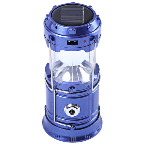 ABS Rechargeable Solar Camping Lantern LED Torch