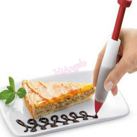 DIY Silicone Syringe Kitchen Cake Decorating Tool