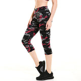 Women's Quick Dry Casual Workout Capri Pants