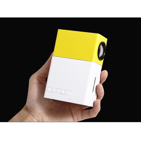 3D handheld mini projector support 1080P HD portable with phone link
